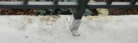 pavimento, balcone, calcestruzzo, cemento, danno, carbonatazione, erosione, deterioramento