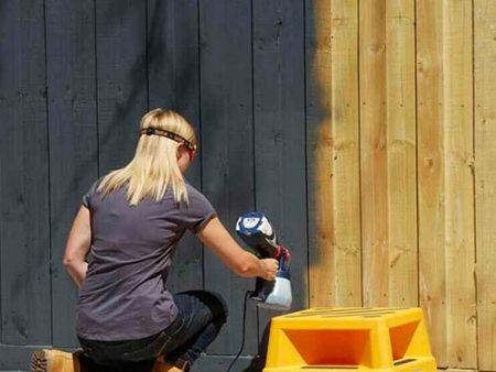 Pittura, idrorepellente, recinzione , staccionata, legno