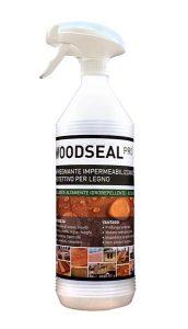 Woodseal Pro, impregnante legno, impermeabilizzante, idrorepellente, spray, bottiglia spray, confezione spray