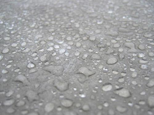 Calcestruzzo, impermeabile, idrorepellente, effetto goccia, cemento, stop umidità