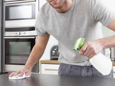 Anti sporco, facile pulizia top cucina, piano lavoro, idrorepellente, trattamento oleofobico