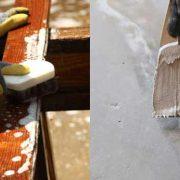 Preparazione, impregnante, calcestruzzo, pietra, legno