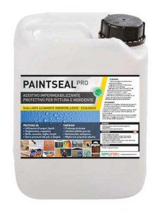 Paintseal Pro - additivo impermeabilizzante pittura, idrorepellente, pittura, mordente
